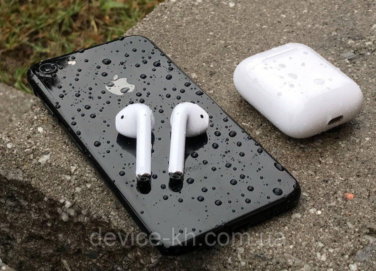 Беспроводные Bluetooth Наушники Apple в Кейсе iFANS Айфанс