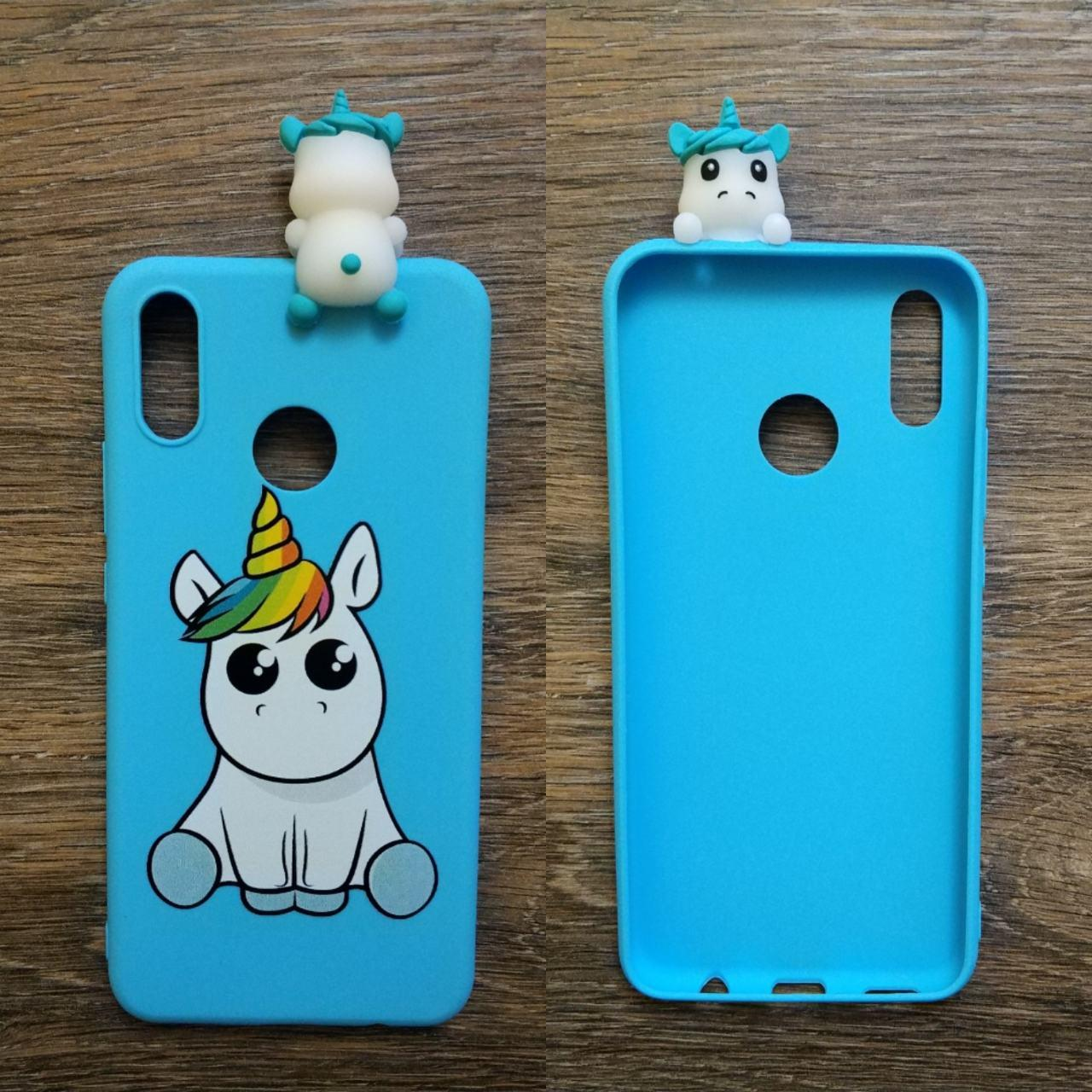 0b05fa15f918 Чехол 3d игрушка для Huawei P Smart 2019 Пони Единорог - Интернет магазин  Coverphone в Харькове