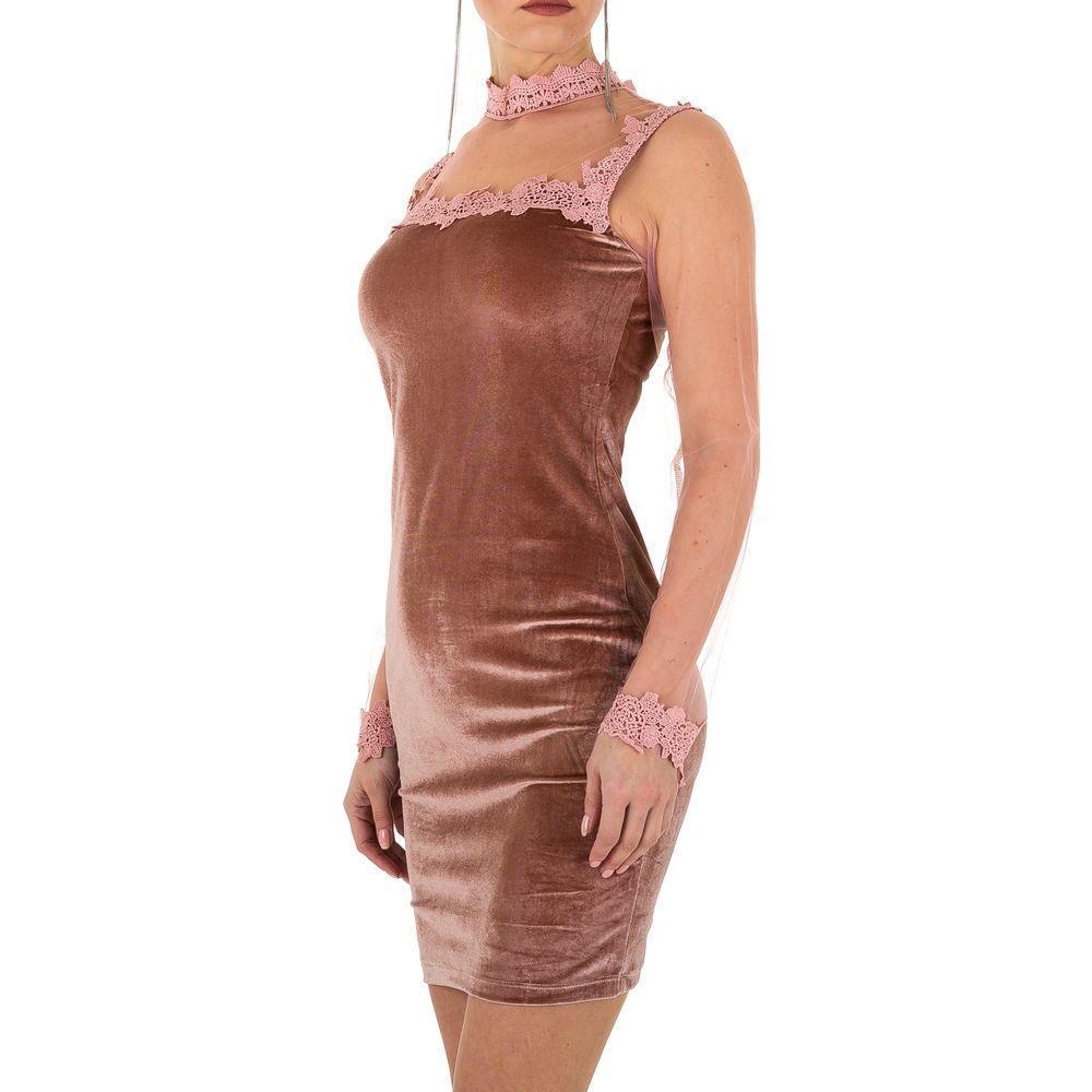 Женское платье от Emmash Paris, размер S/36 - розовый - KL-МУ-1026-розовый S