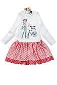 Модное платье для девочки с 3Д-принтом ( разные варианты)