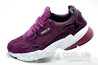 Женские кроссовки в стиле Adidas Falcon W, Бордовый