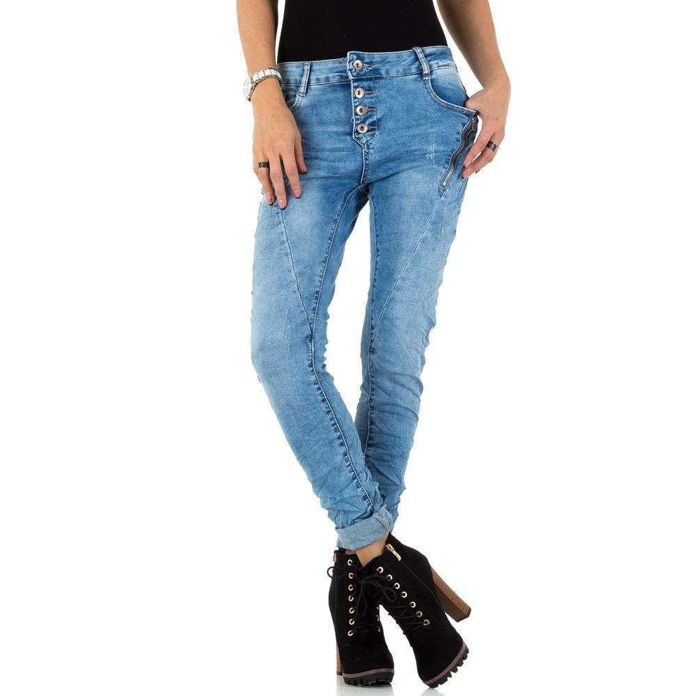 Женские джинсы от Laulia - синий - KL-J-1J118-синий