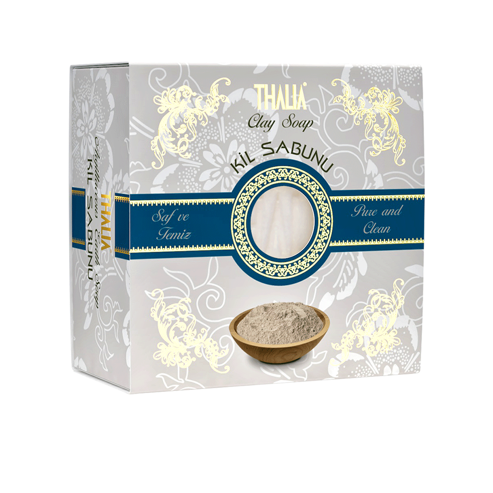 Натуральное мыло Thalia на основе глины 150 г (3605026)