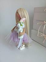 Куколка Тильда 28 см. игровая