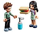 """Конструктор Bela 10856 (Аналог Lego Friends 41336) """"Арт-кафе Эммы"""" 384 детали, фото 4"""