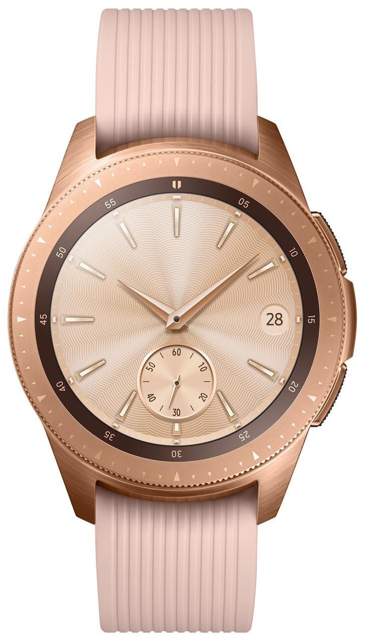 Умные часы Samsung SM-R810 Rose Gold (гарантия 12 месяцев)