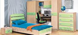 Детская комната Терри фисташка-ваниль (ДСП)