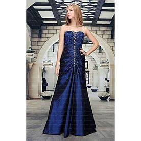 Женское платье от Festamo - DK.синий - Мкл-F1015-DK.синий