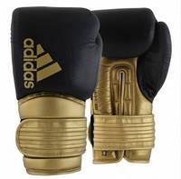 Боксерские перчатки Hybrid 300 | Цвет черный, золото, фото 1