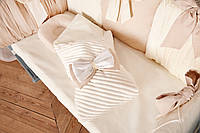 Комплект постельного белья для новорождённых Добрый Сон «Шарм» бежевый 10-02