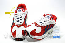 Кроссовки унисекс в стиле Adidas Yung 1, Red\White, фото 3