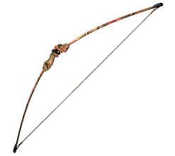 Лук Man Kung RB008 (длина: 1110мм, сила натяжения: 6,8кг), комплект, лист.камуф.