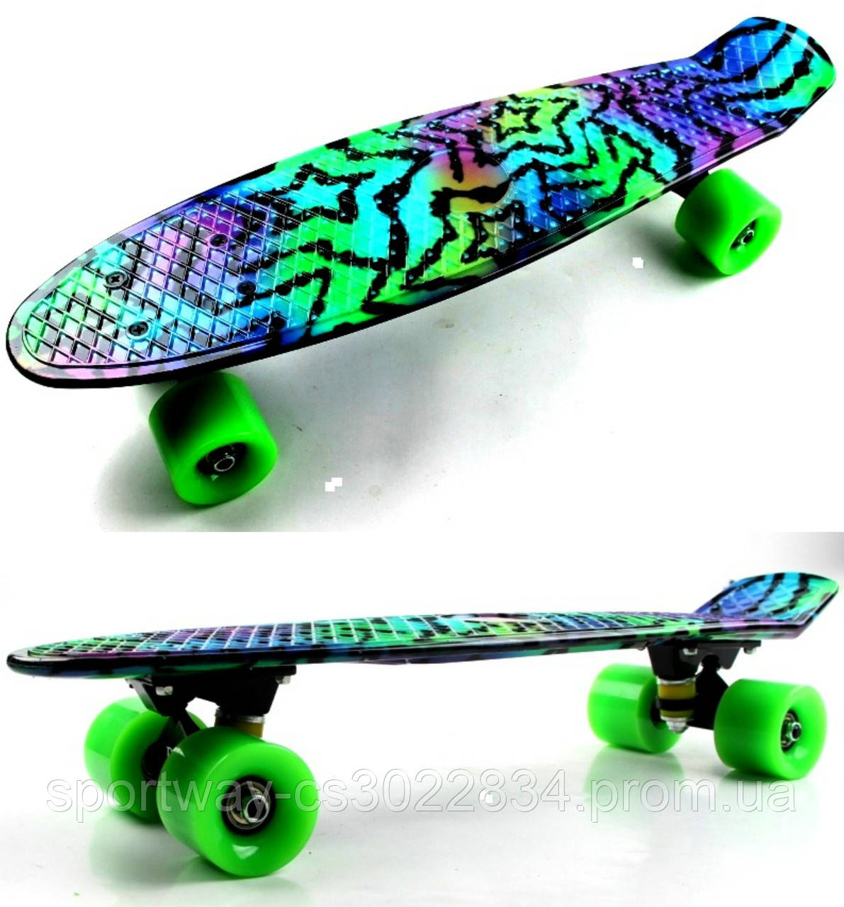 "Penny Board Picture ""Star"""