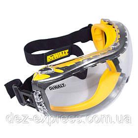 Захисні окуляри DeWalt DPG82-11 (USA). Ідеально прозорі. Не Запотівають