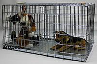 Клетка вольер для собак Волк дуэт 550*1000*490 мм