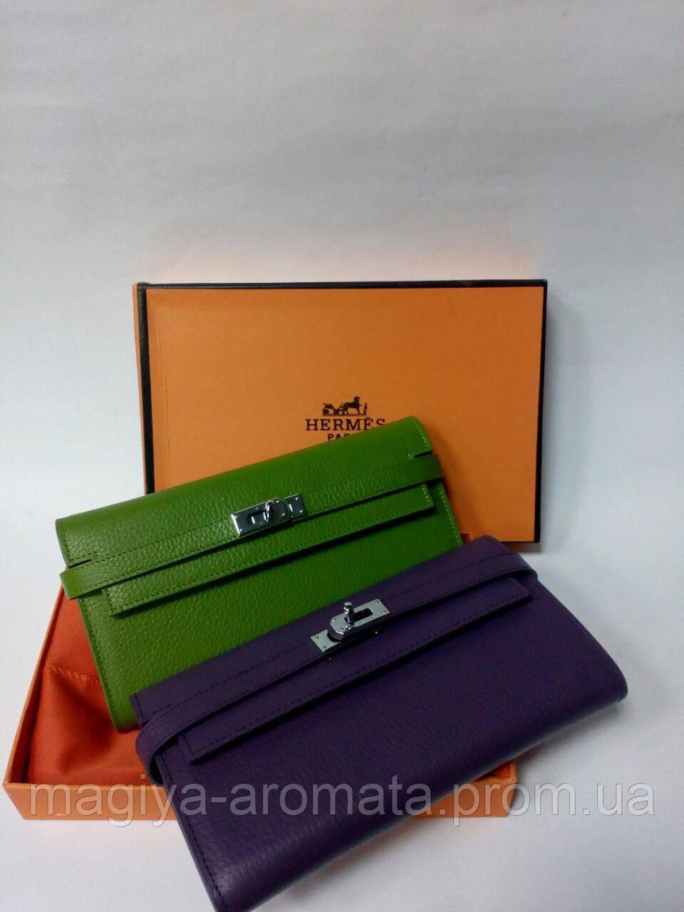 8d4e59110171 Женский кожаный кошелек от Hermes Original quality цвета в ассортименте -  Магия Аромата - Парфюмерия,