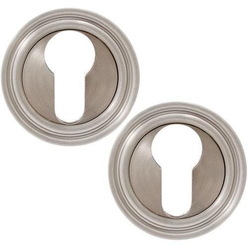 Накладка дверная под цилиндр Fimet 261 F20 матовый никель