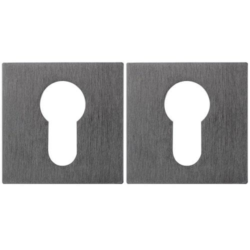 Накладка дверная под цилиндр Fimet 201 F05 матовый хром