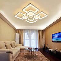 Люстра светодиодная потолочная 8060/4+4WH dimmer-2.4G