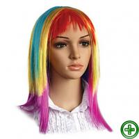 Парик разноцветный В-05819