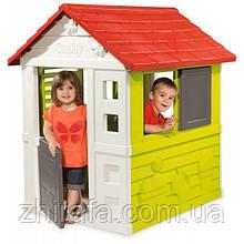 Дитячий ігровий будиночок Smoby Nature Haus / Смоби Натюр 810712