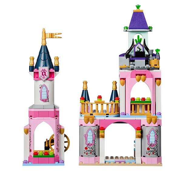 Конструктор Bela 10890 Принцессы Сказочный замок Спящей Красавицы (аналог Lego Disney Princess 41152)