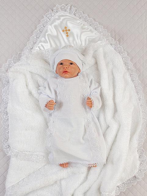 """Набор для крещения """"Зимний"""", белый"""