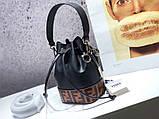 Женская сумка от Фенди FB натуральная кожа, новинка, фото 2