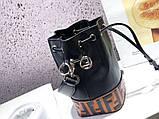 Женская сумка от Фенди FB натуральная кожа, новинка, фото 5