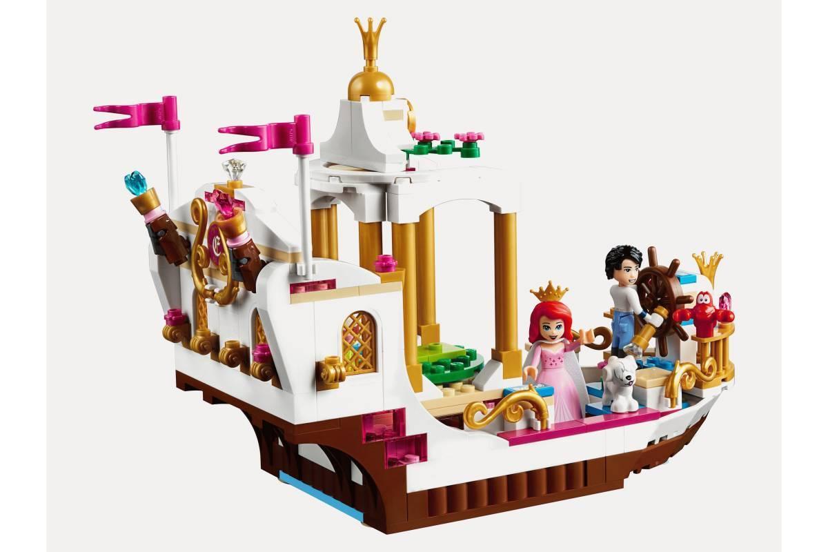 """Конструктор Bela 10891 """"Королевский корабль Ариэль"""" 384 деталей. Ааналог LEGO Disney Princess 41153"""
