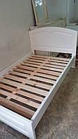 Кровать деревянная Белая Arngold 120х200