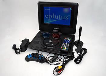 Портативный DVD плеер Eplutus EP-9521T с цифровым тюнером Т2 (9.5 дюймов) телевизор в машину