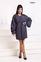Платье на запах норма + батал с 501 гл Код:861254619