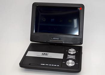 Портативний DVD плеєр Eplutus EP-9520T цифровим тюнером (9.5 дюймів) DVD з Т2 двд переносне в машину