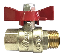 Шаровые краны для воды ТМ BRASS серия 300