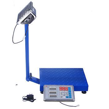 Весы торговые Domotec со стойкой до 150 кг (0000)