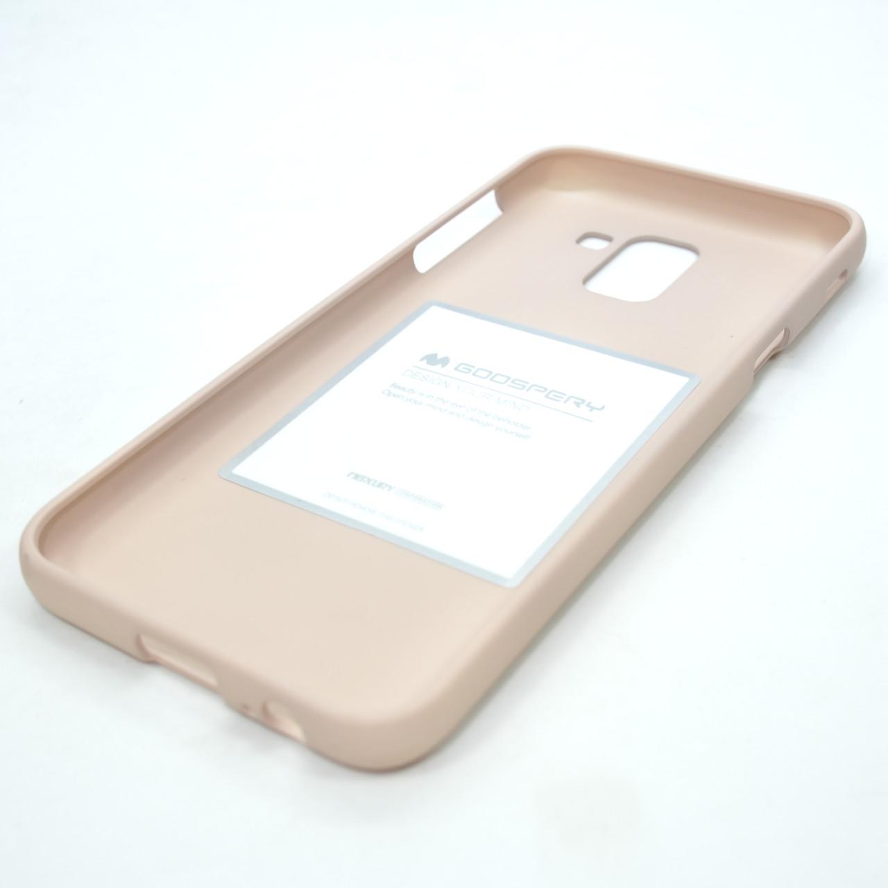 Чехлы для Samsung Galaxy J6 (2018) J600F Goosprey SF Jelly Mercury J600 pink sand (J600) 2018