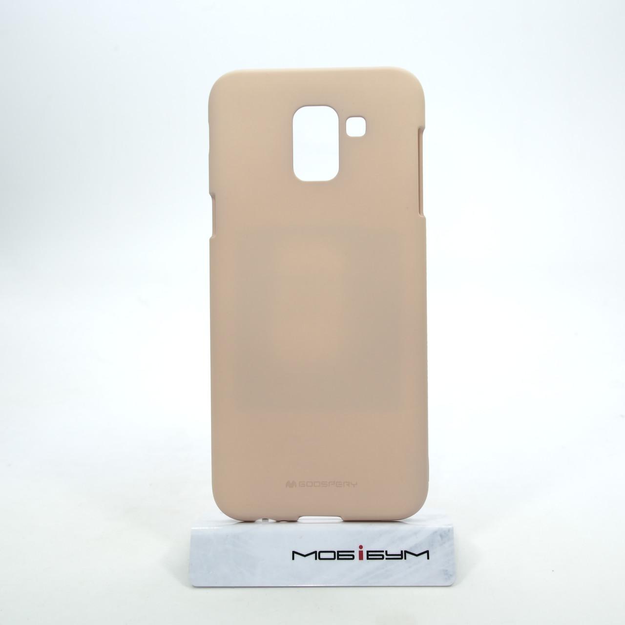 Чехол Goosprey SF Jelly Mercury Samsung Galaxy J6 J600 pink sand EAN/UPC: 8809621260617