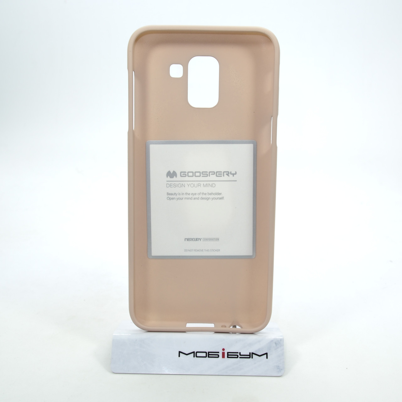 Чехлы для Samsung Galaxy J6 (2018) J600F Goosprey SF Jelly Mercury J600 pink sand (J600) 2018 Для телефона