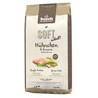 Корм для собак Bosch HPC Soft Huhnchen & Banane 12,5 кг курятина і банан