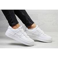 Женские кроссовки Nike Air Force 1 белые р.36 Акция -50%! 95165aabf493f