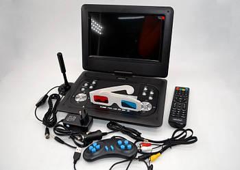 Портативний двд телевізор Eplutus EP-1029T Портативний DVD плеєр з цифровим тюнером Т2 (10.2 дюйма)