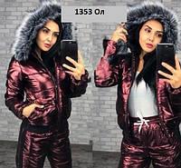 Зимний женский костюм 1353 Ол Код:844982519, фото 1