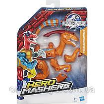 Разборная фигурка Динозавр Паразауролоф Мир Юрского Периода Parasaurolophus Hero Mashers Jurassic World B3239