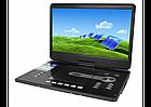 """Портативний DVD програвач Eplutus EP-1606 DVD плеєр з тюнером Т2 16"""" автомобільний телевізор, фото 3"""
