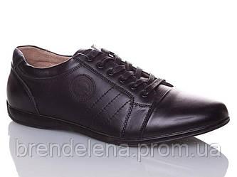 Чоловічі спортивні туфлі шкіряні р40-45(код 5970-00)