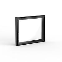 Дверца для камина 520×420 мм серийная / стекло деко