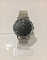 Женские наручные часы Daniel Wellington (Даниэль Веллингтон), серебристо-черный цвет ( код: IBW185SB )