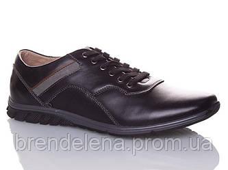 Чоловічі спортивні туфлі шкіряні р40-45(код 5972-00)