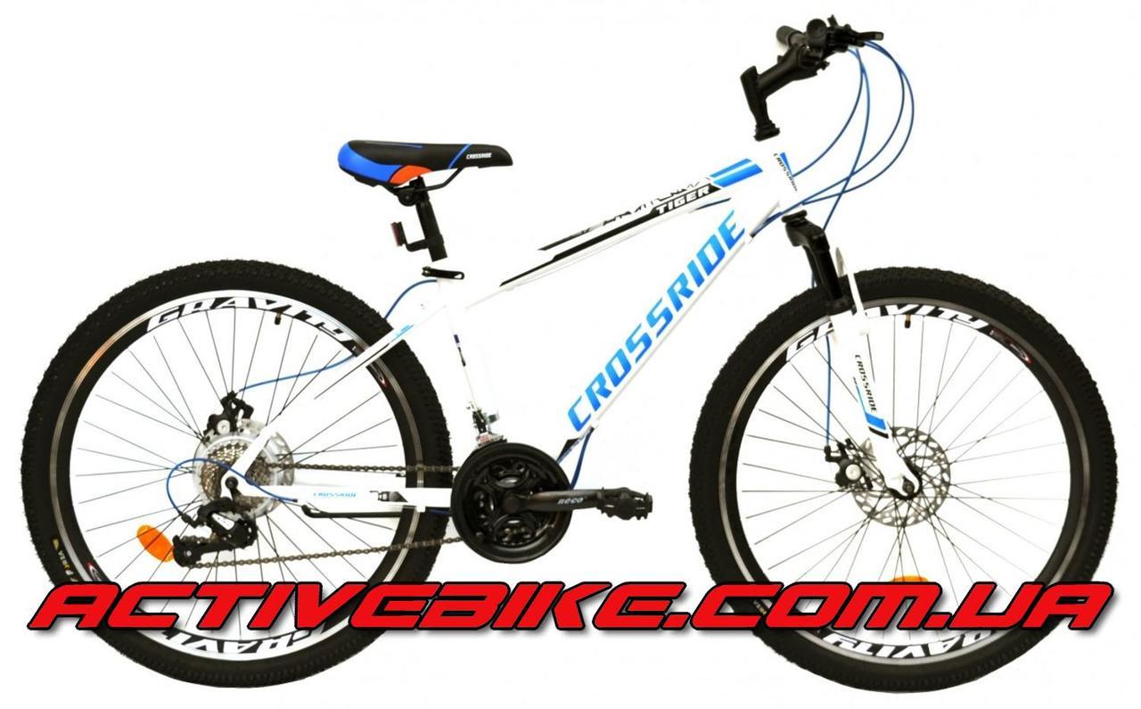 """Велосипед горный CROSSRIDE TIGER MTB 26""""."""